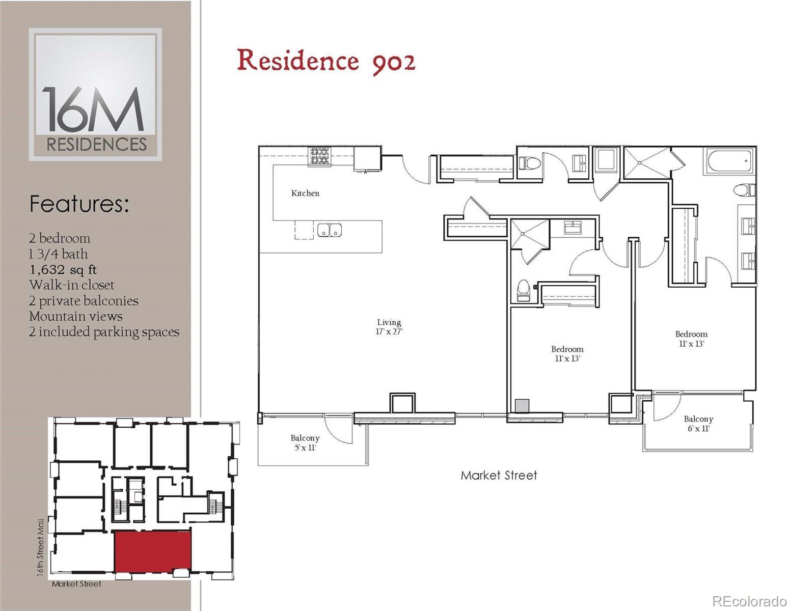 1560 Market Street #902 Property Photo - Denver, CO real estate listing