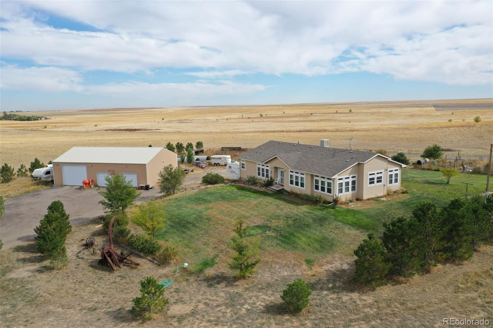 5726 County Road 89 Property Photo - Roggen, CO real estate listing