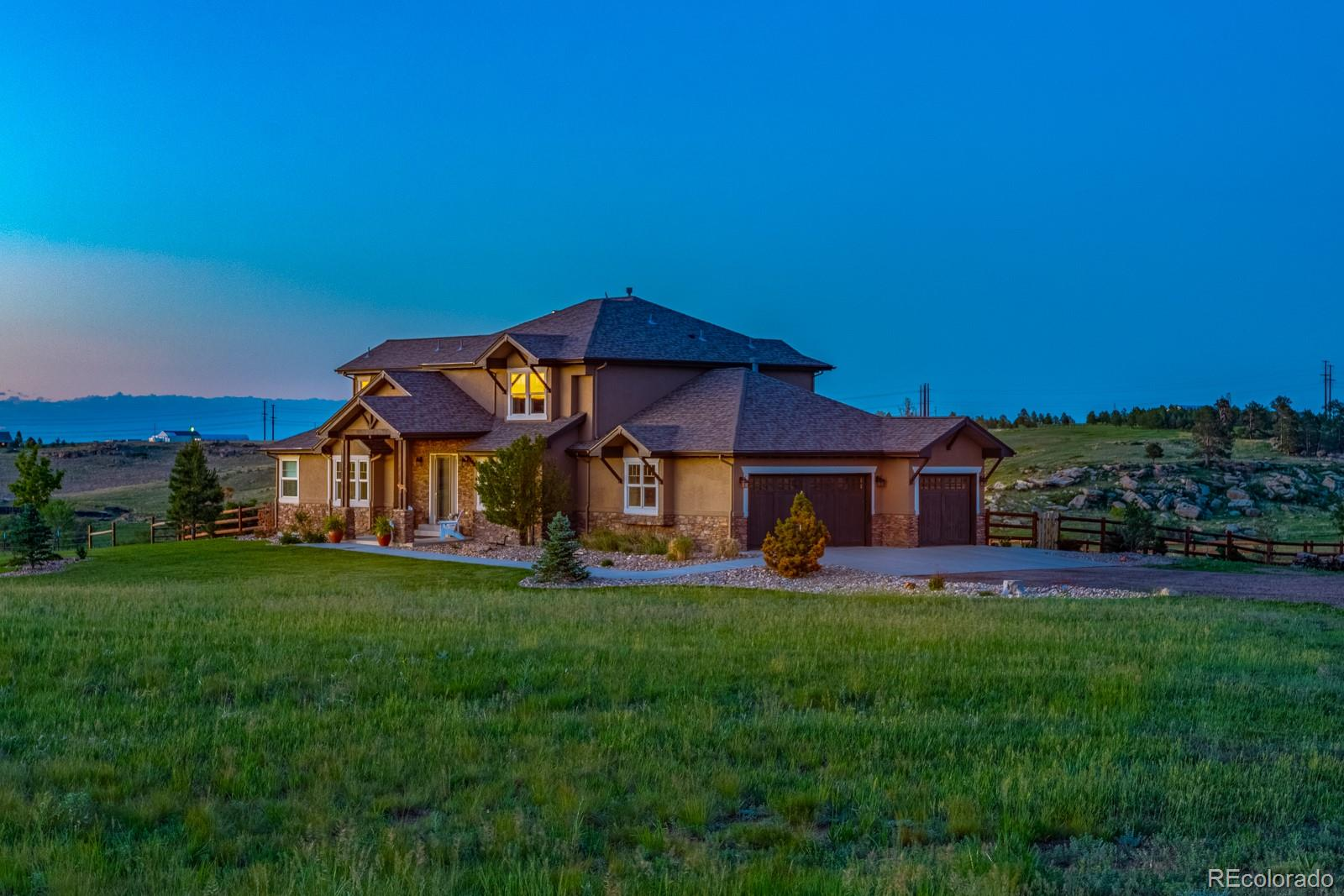 11065 Cave Spring Road Property Photo - Franktown, CO real estate listing