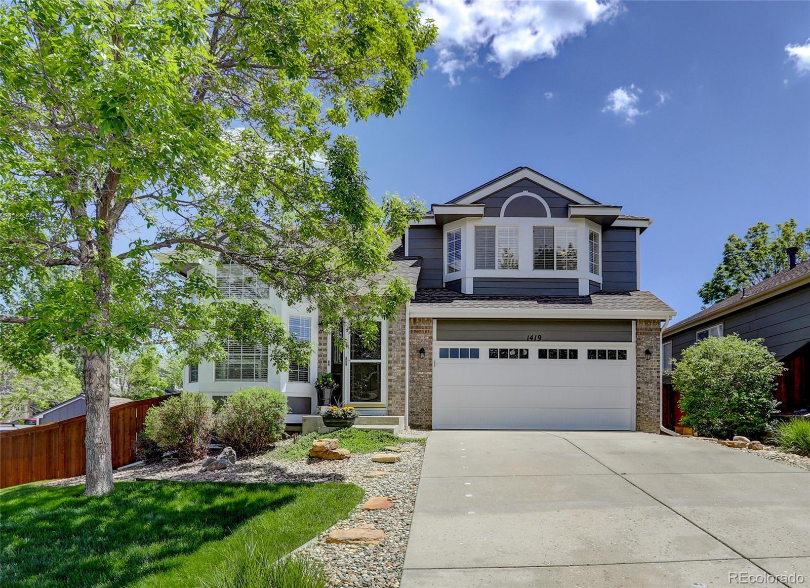 1419 Mulberry Lane Property Photo - Highlands Ranch, CO real estate listing