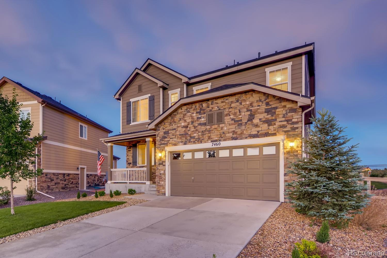 7460 S Old Hammer Way Property Photo - Aurora, CO real estate listing