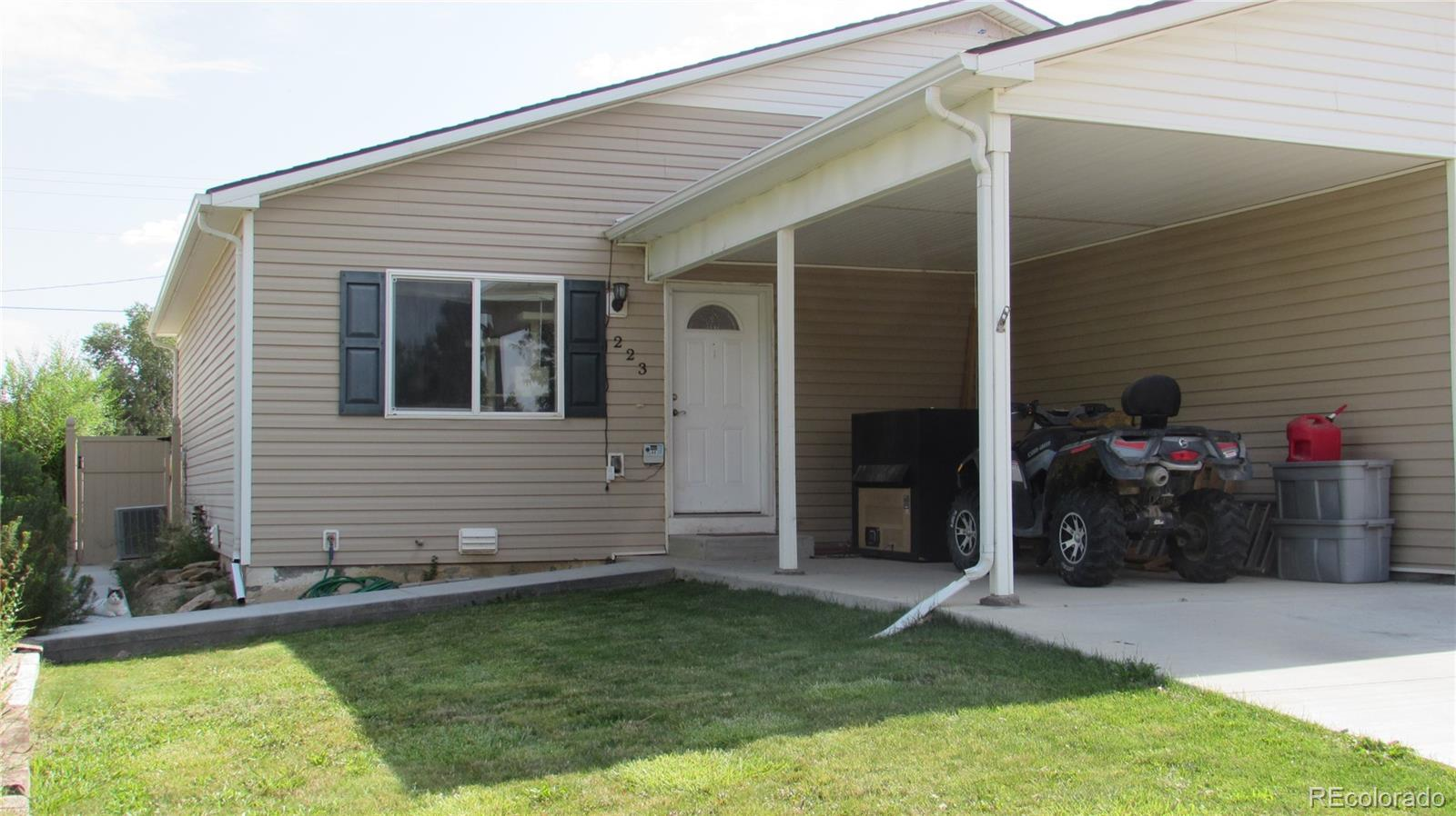 223 E Rangely Avenue Property Photo - Rangely, CO real estate listing