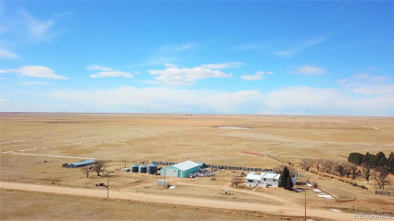16635 County Road 169 Property Photo - Matheson, CO real estate listing
