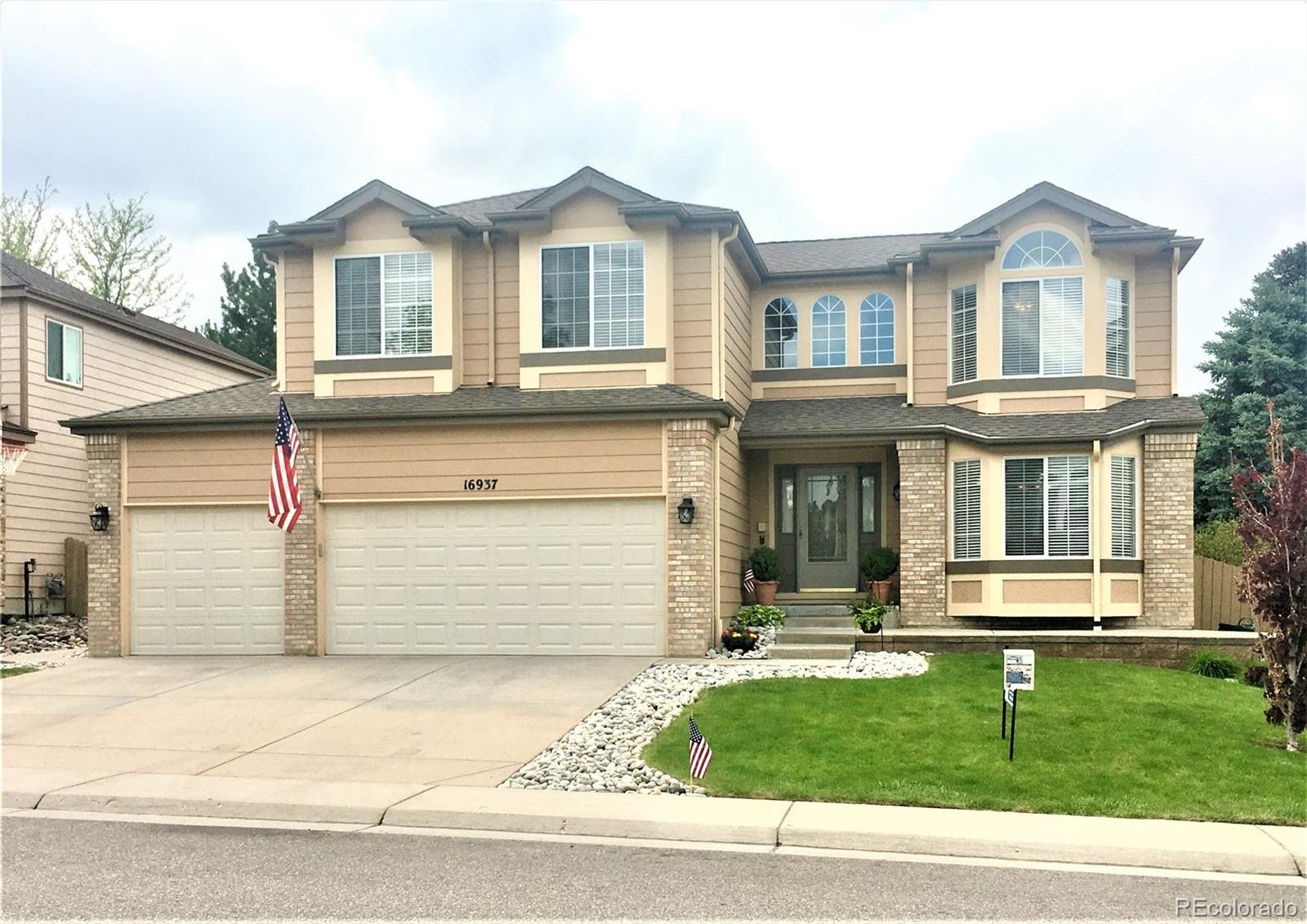16937 Molina Place Property Photo - Parker, CO real estate listing