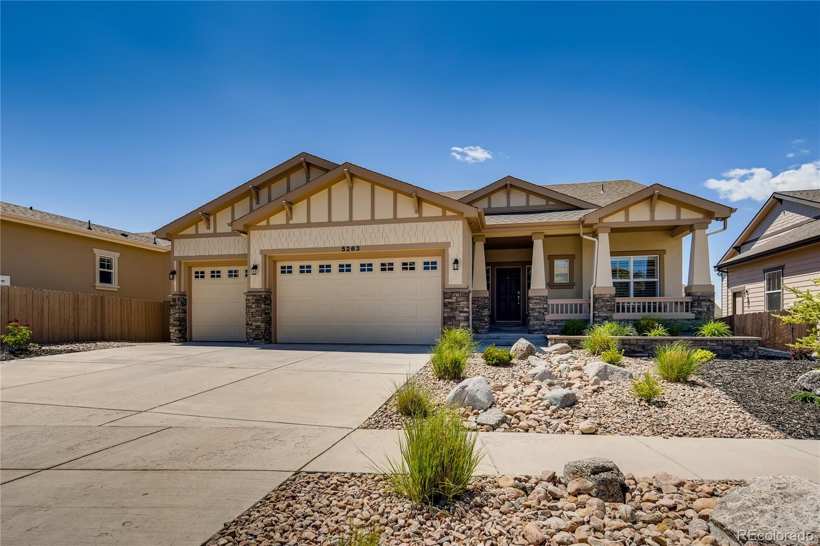 5263 Mount Cutler Court Property Photo - Colorado Springs, CO real estate listing