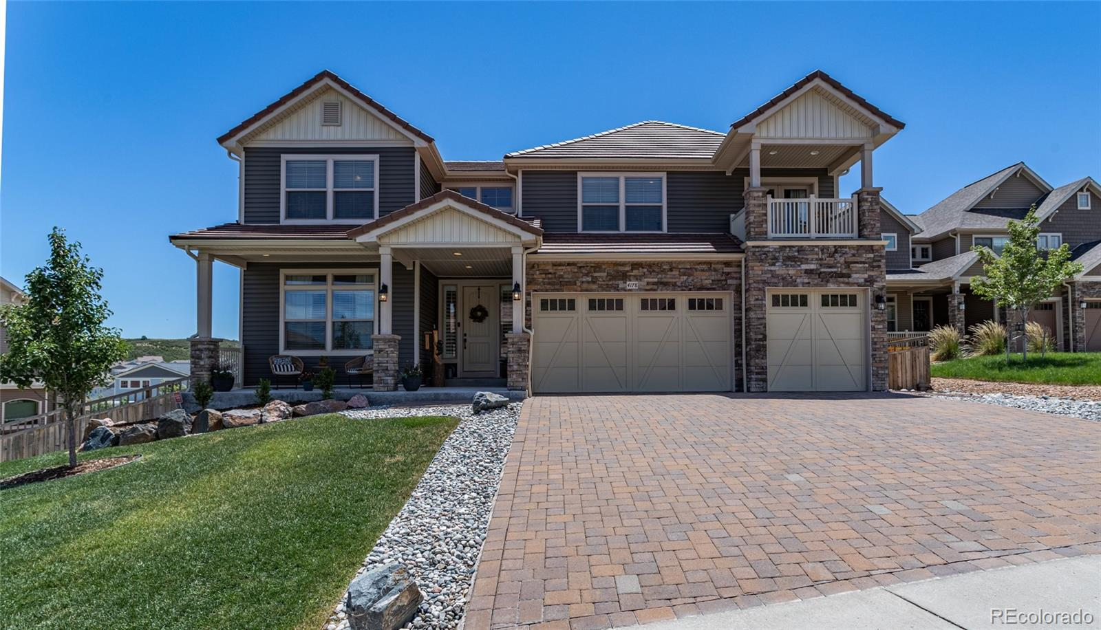 4178 Marblehead Place Property Photo - Castle Rock, CO real estate listing