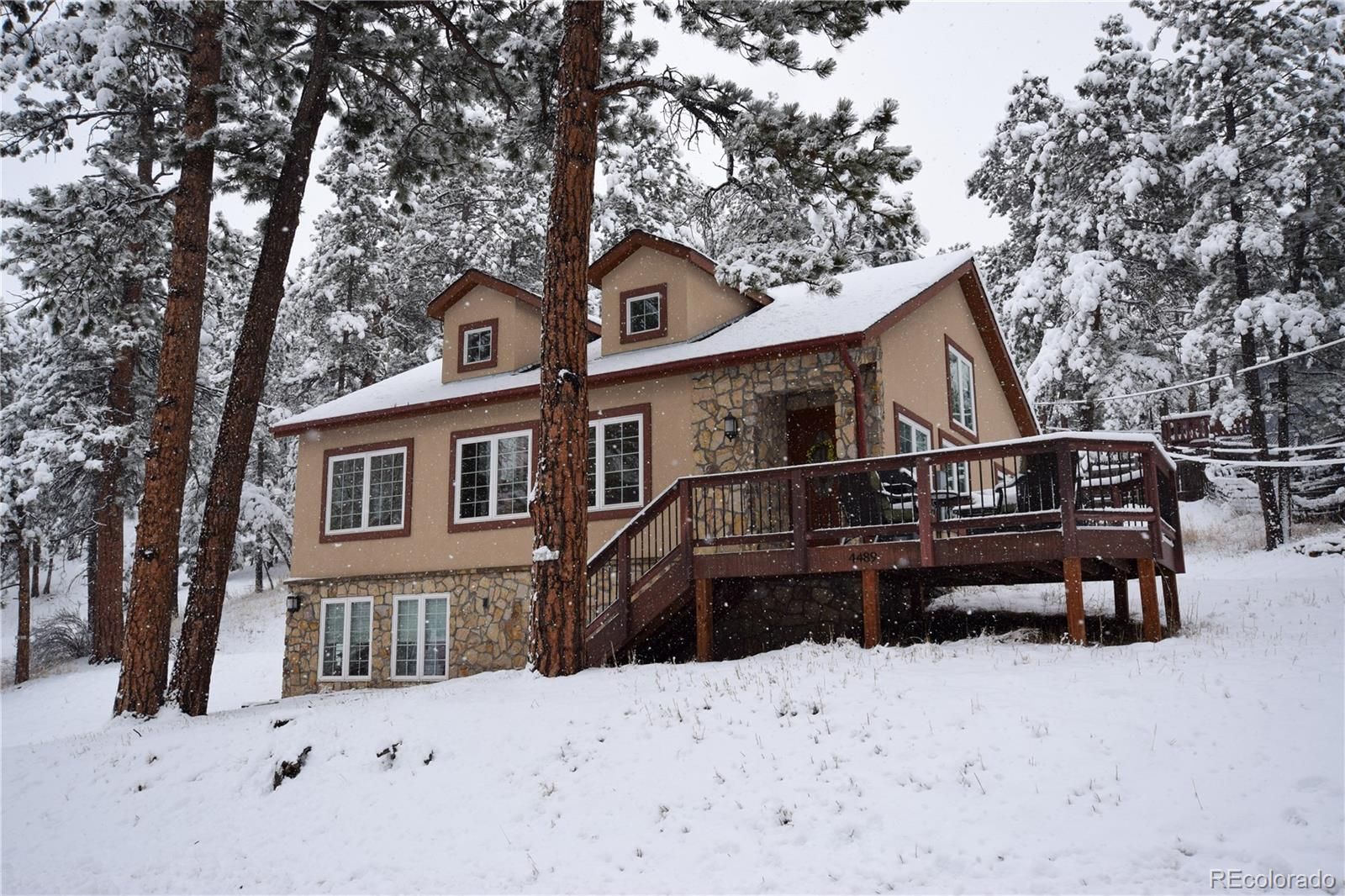 4489 Blue Spruce Road, Evergreen, CO 80439 - Evergreen, CO real estate listing