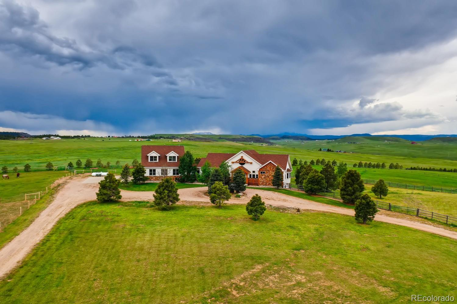 7626 E Greenland Road Property Photo - Franktown, CO real estate listing