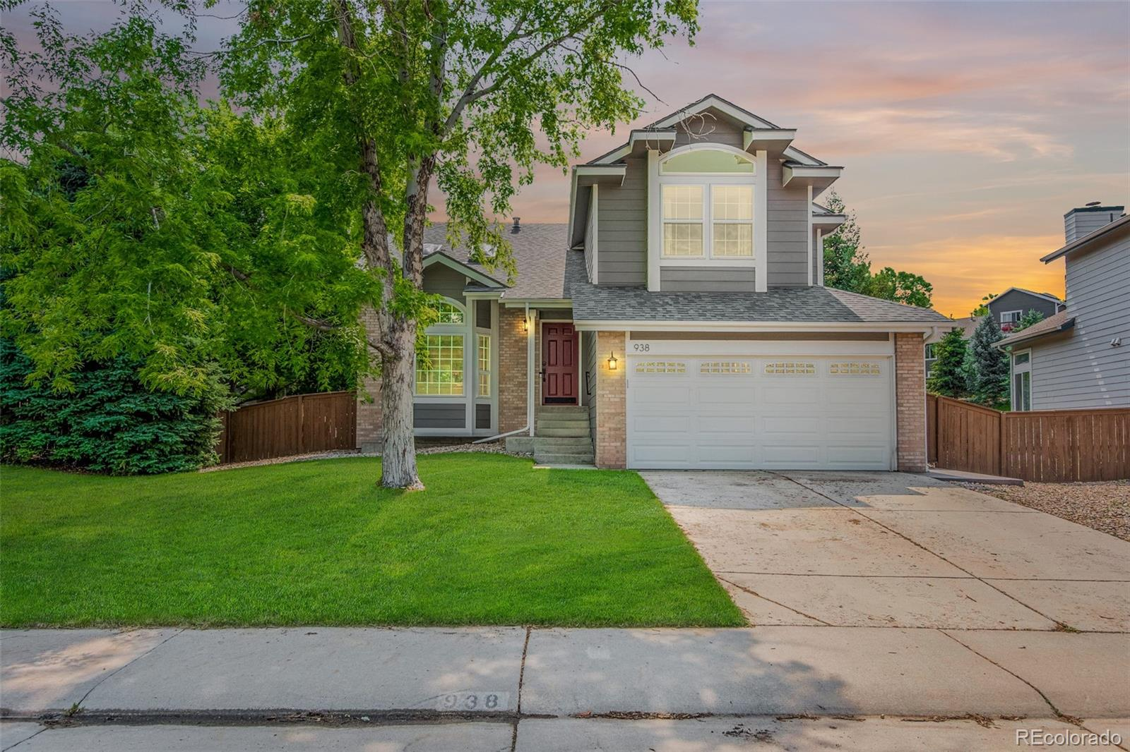 938 Garden Drive Property Photo - Highlands Ranch, CO real estate listing