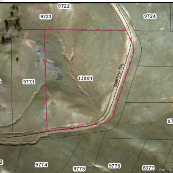 1405 San Tee Trail Property Photo - Hartsel, CO real estate listing