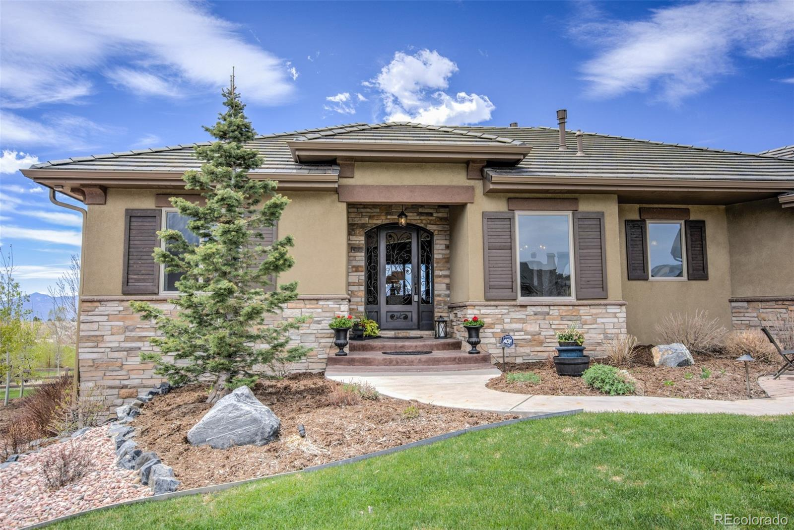 1957 Bent Creek Drive Property Photo - Colorado Springs, CO real estate listing
