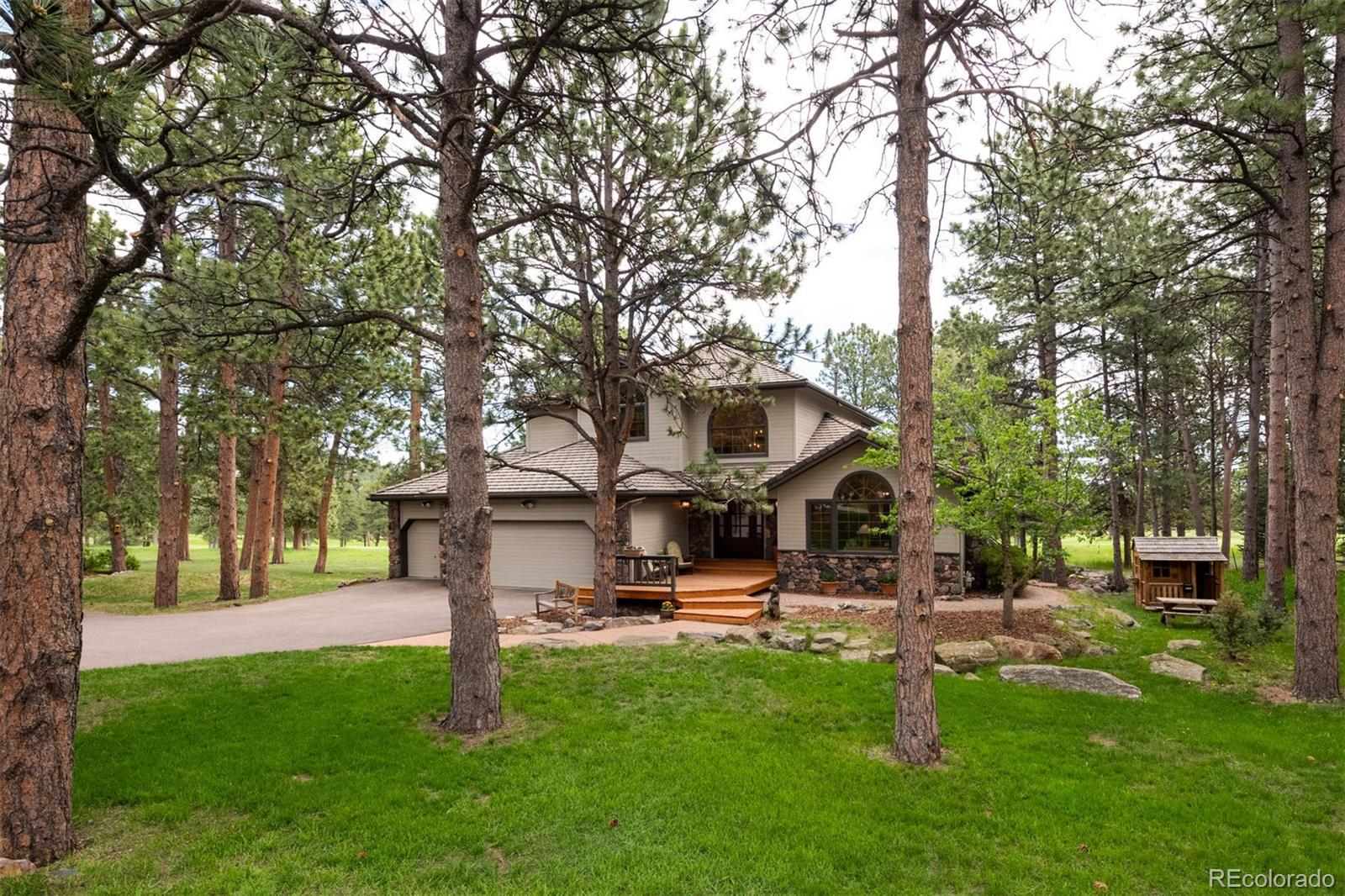 2216 Island Point Property Photo - Evergreen, CO real estate listing