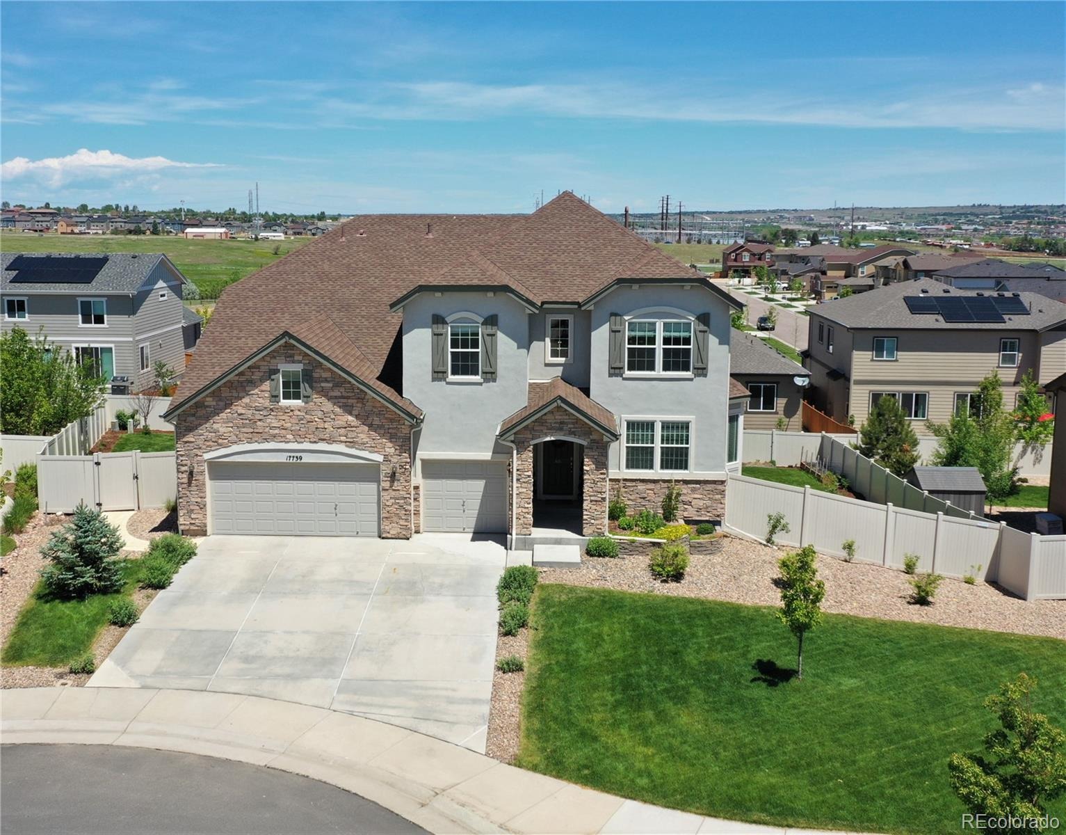 17739 Triple Crown Street Property Photo - Parker, CO real estate listing