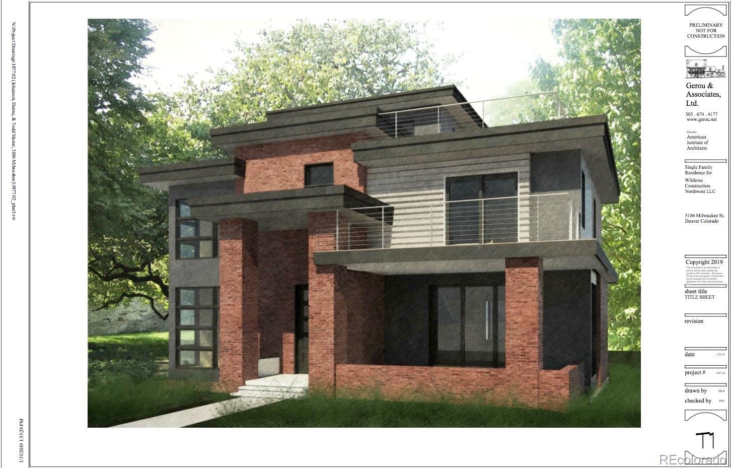 3106 N Milwaukee Street Property Photo - Denver, CO real estate listing