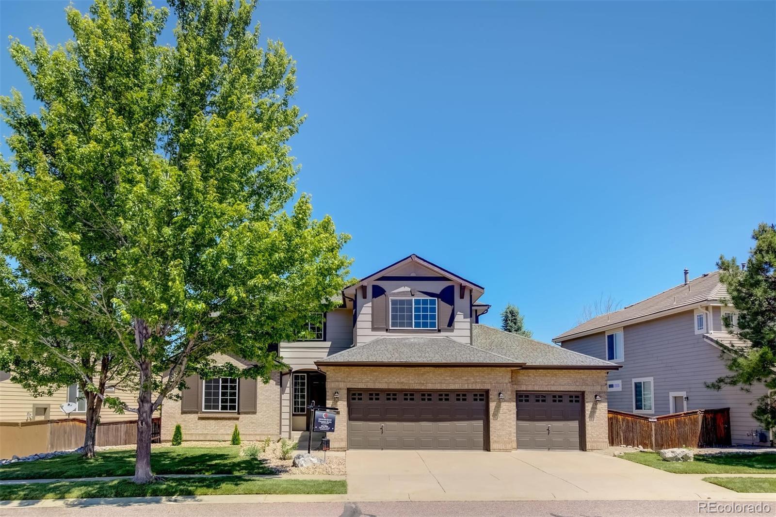 807 Ridgemont Circle Property Photo - Highlands Ranch, CO real estate listing