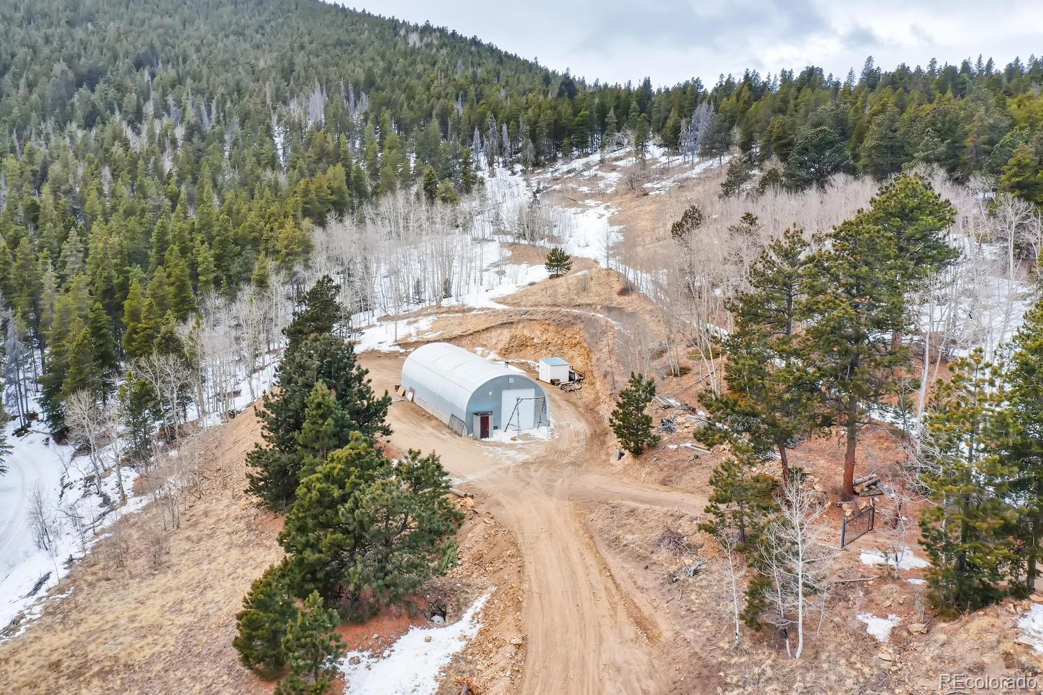 1294 Pewabic Mountain Road Property Photo - Central City, CO real estate listing