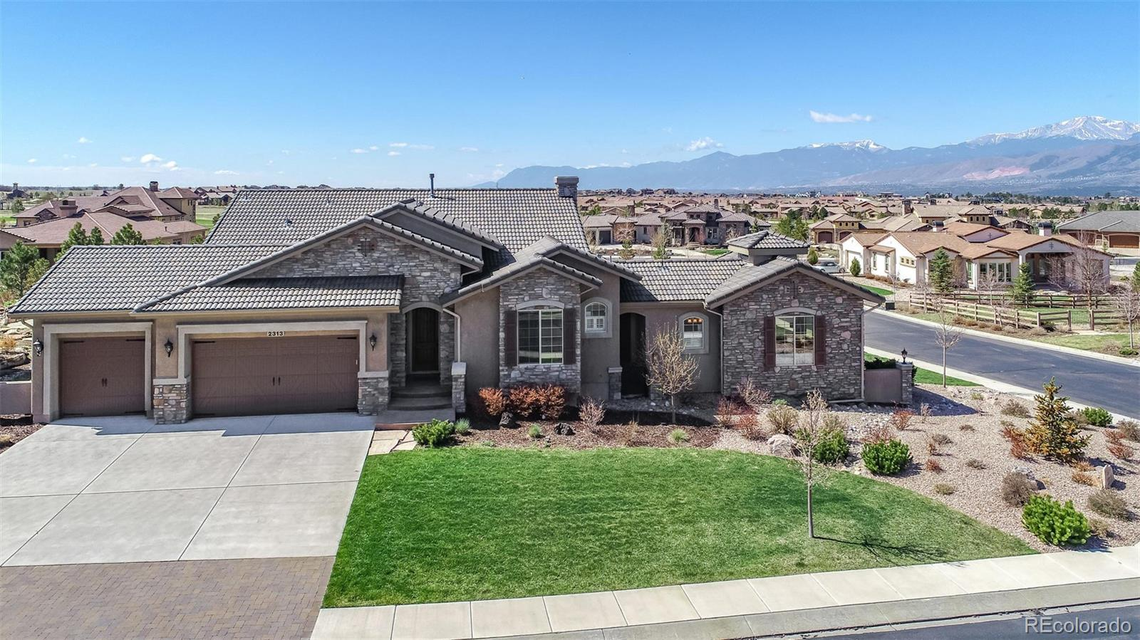 2313 Rainbows End Point Property Photo - Colorado Springs, CO real estate listing