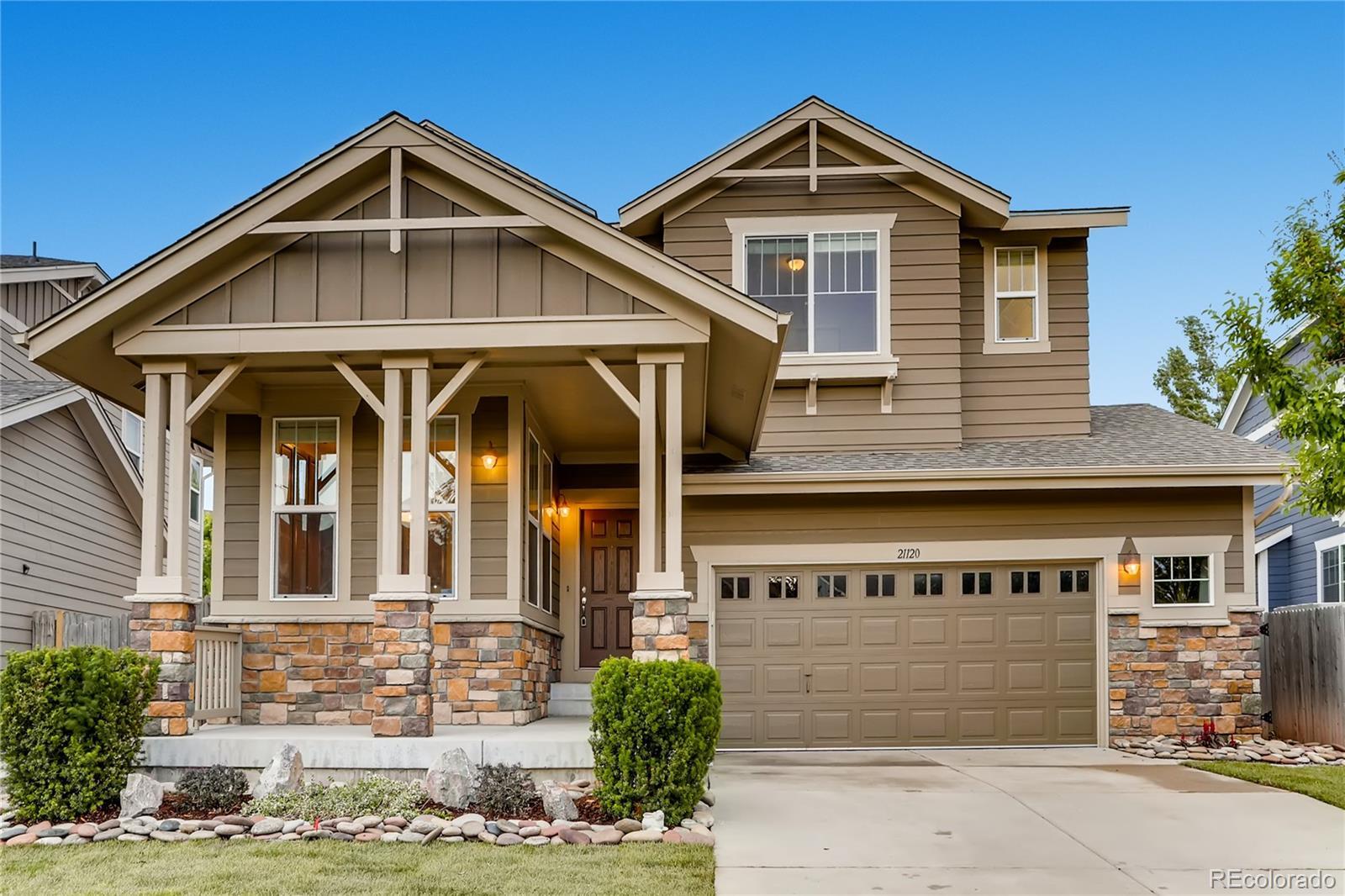 21120 E Jefferson Circle Property Photo - Aurora, CO real estate listing
