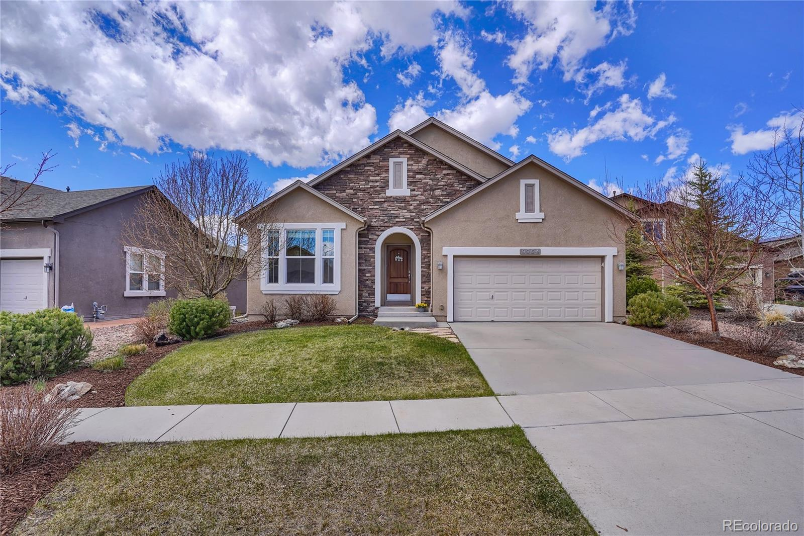 9954 San Luis Park Court Property Photo - Colorado Springs, CO real estate listing