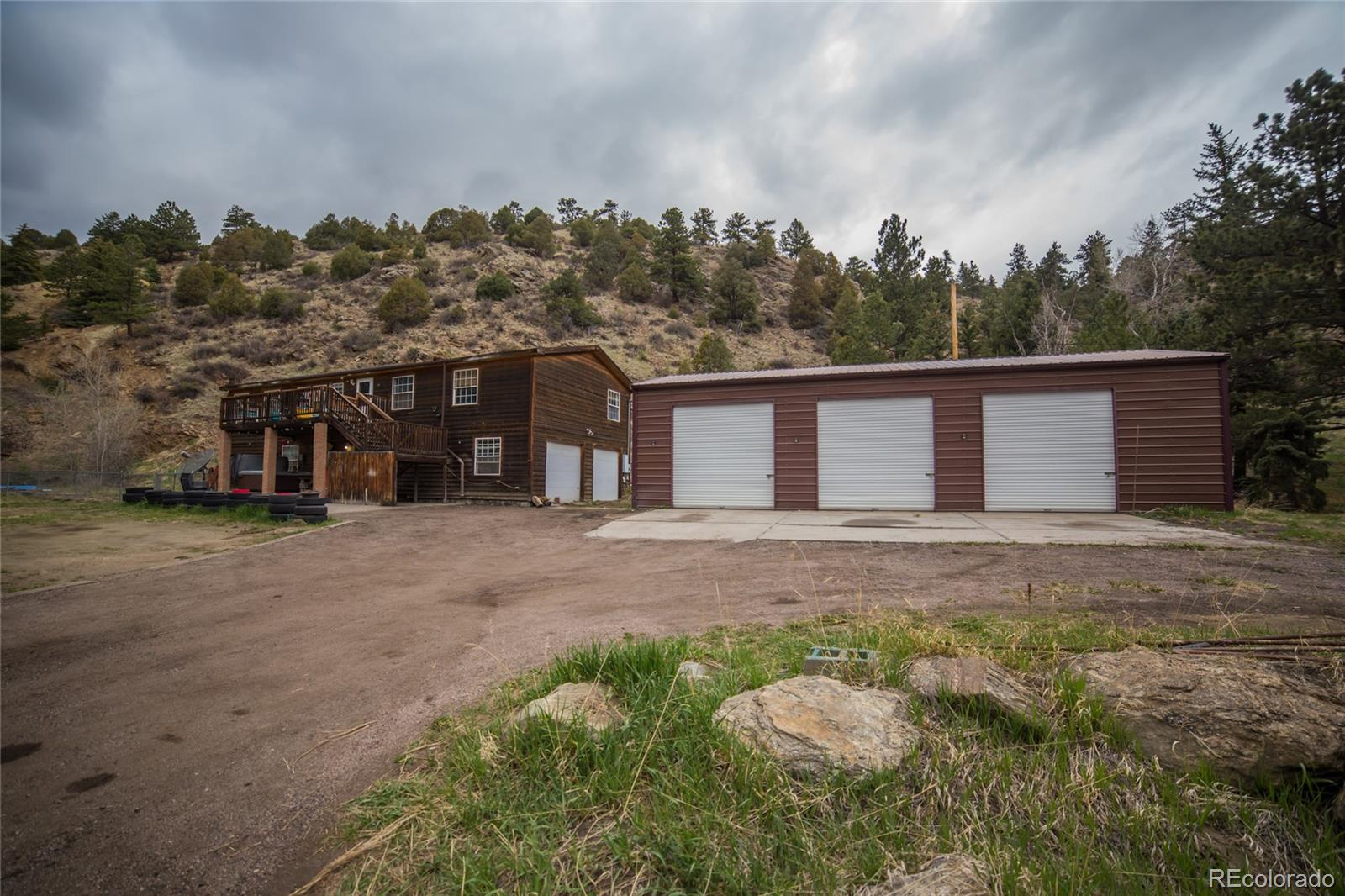 1182 Chicago Creek Road Property Photo - Idaho Springs, CO real estate listing