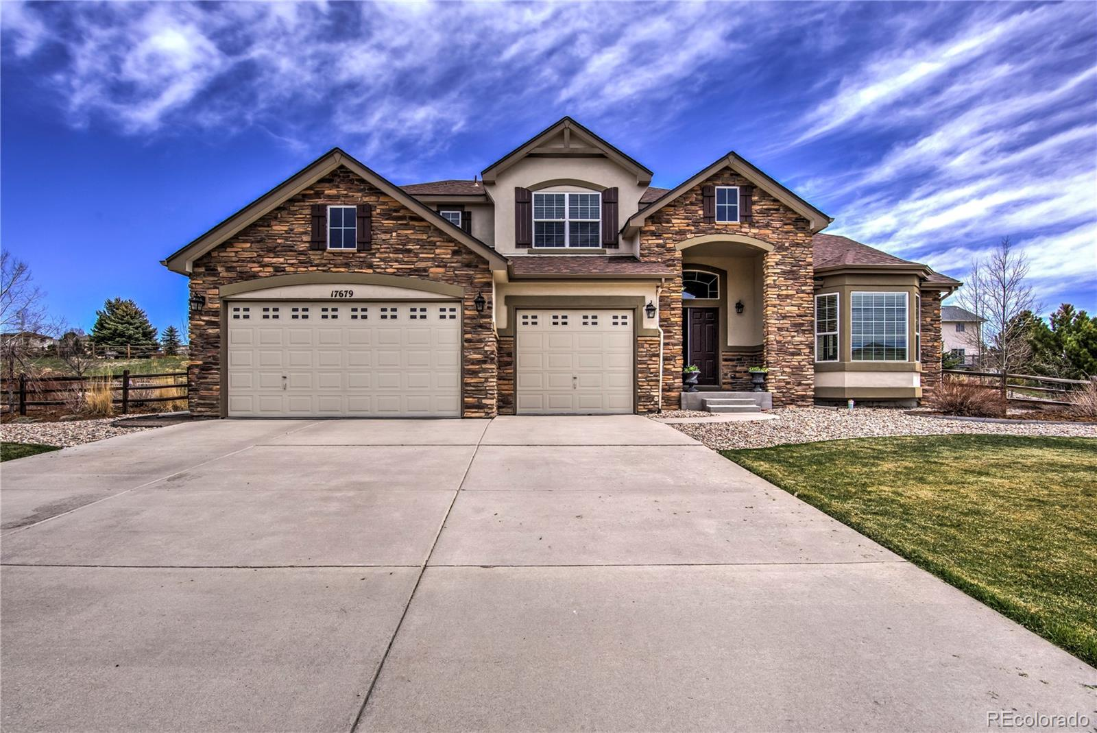17679 White Marble Drive Property Photo - Monument, CO real estate listing
