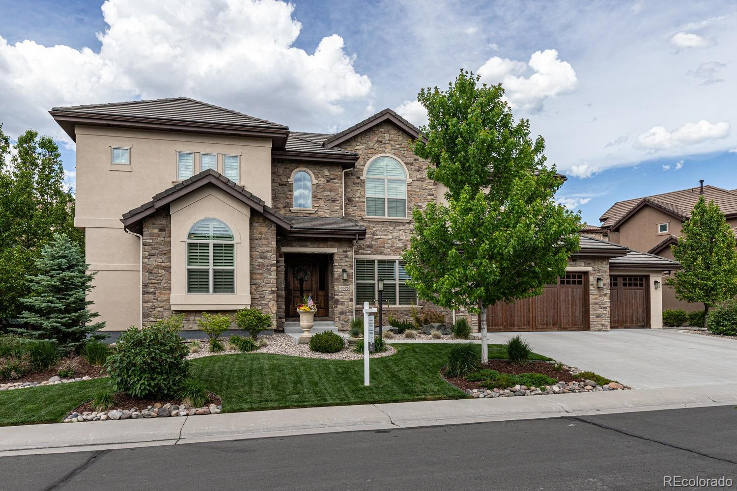 10096 S Shadow Hill Drive Property Photo - Lone Tree, CO real estate listing