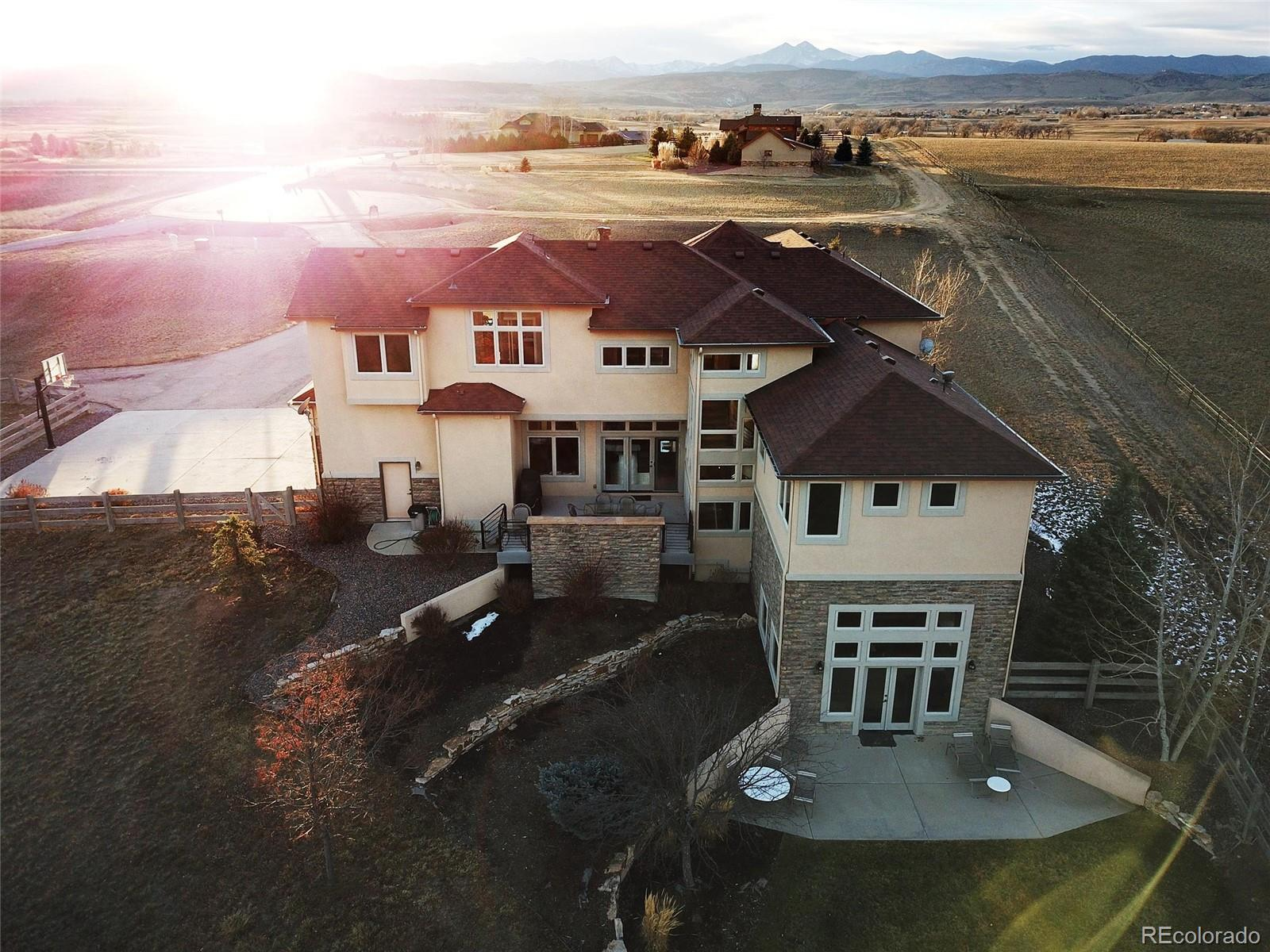 2830 Center Ridge Drive Property Photo - Berthoud, CO real estate listing