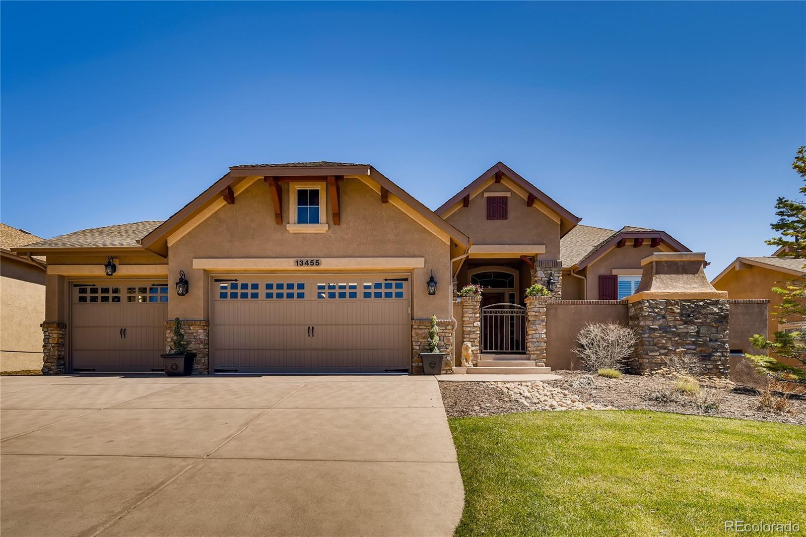 13455 Cedarville Way Property Photo - Colorado Springs, CO real estate listing