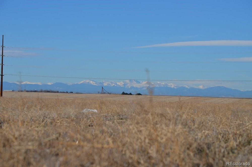 38th Avenue Property Photo - Bennett, CO real estate listing
