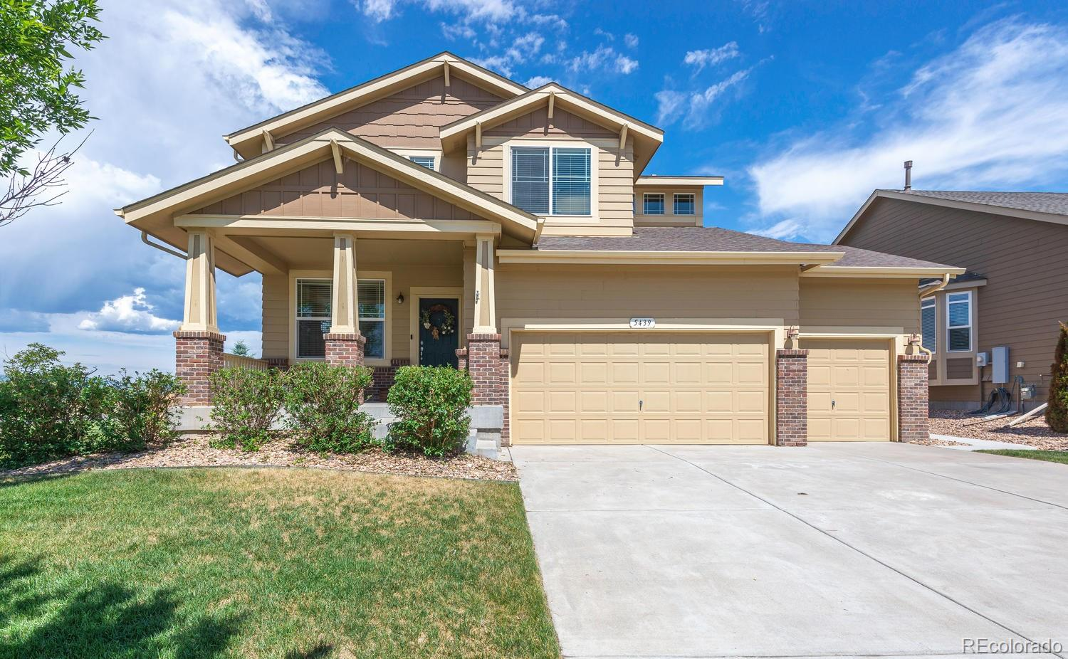 5439 Brookline Drive Property Photo - Timnath, CO real estate listing