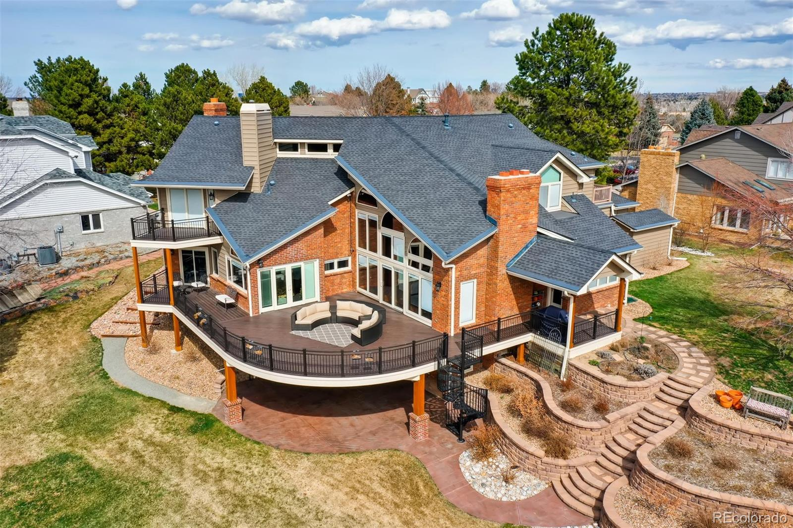 55 Falcon Hills Drive Property Photo - Highlands Ranch, CO real estate listing