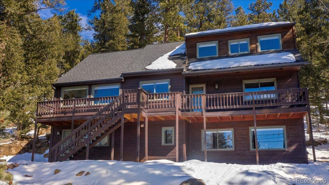 4640 Hilltop Road, Evergreen, CO 80439 - Evergreen, CO real estate listing