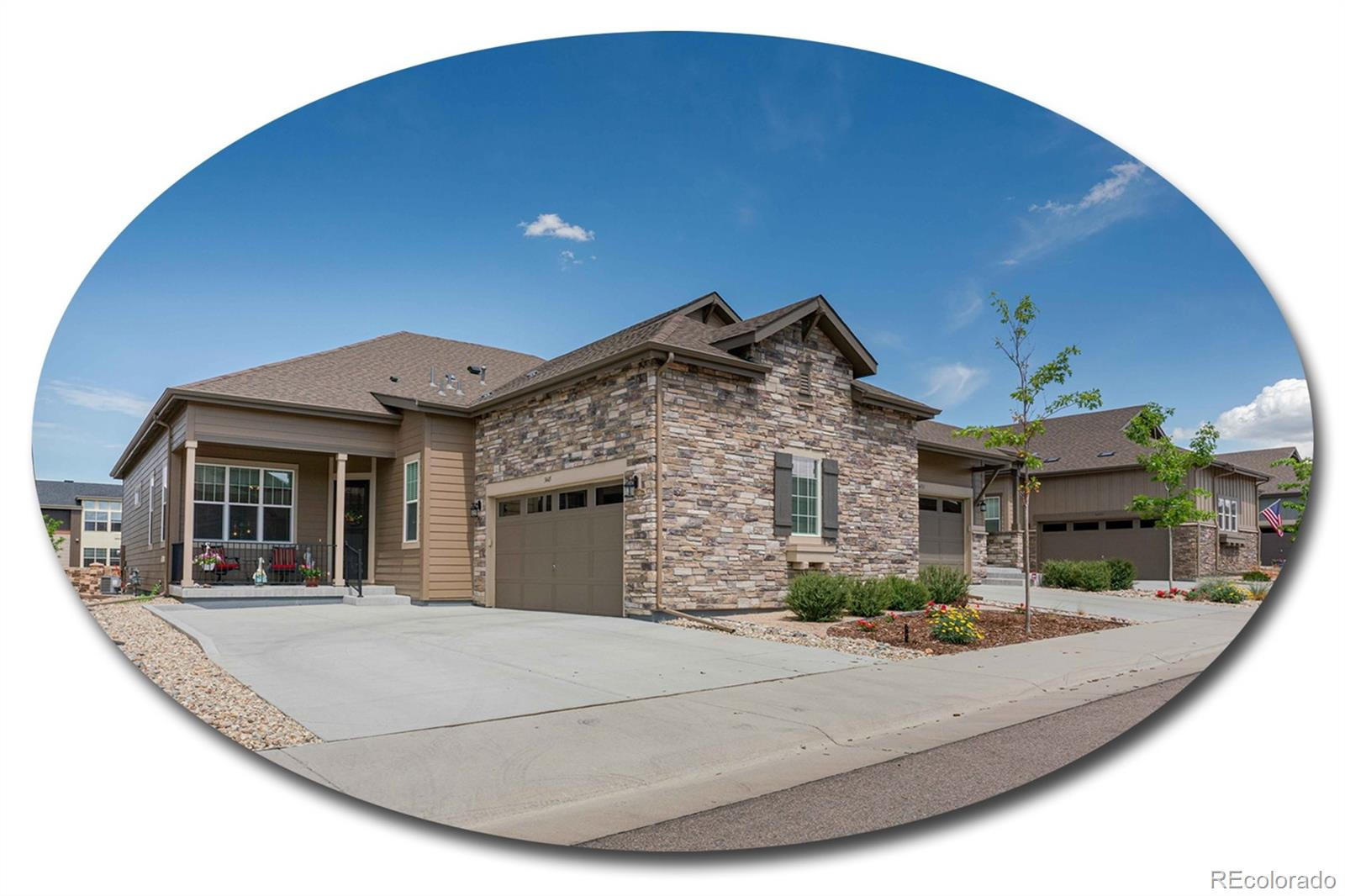 3445 New Haven Circle Property Photo - Castle Rock, CO real estate listing