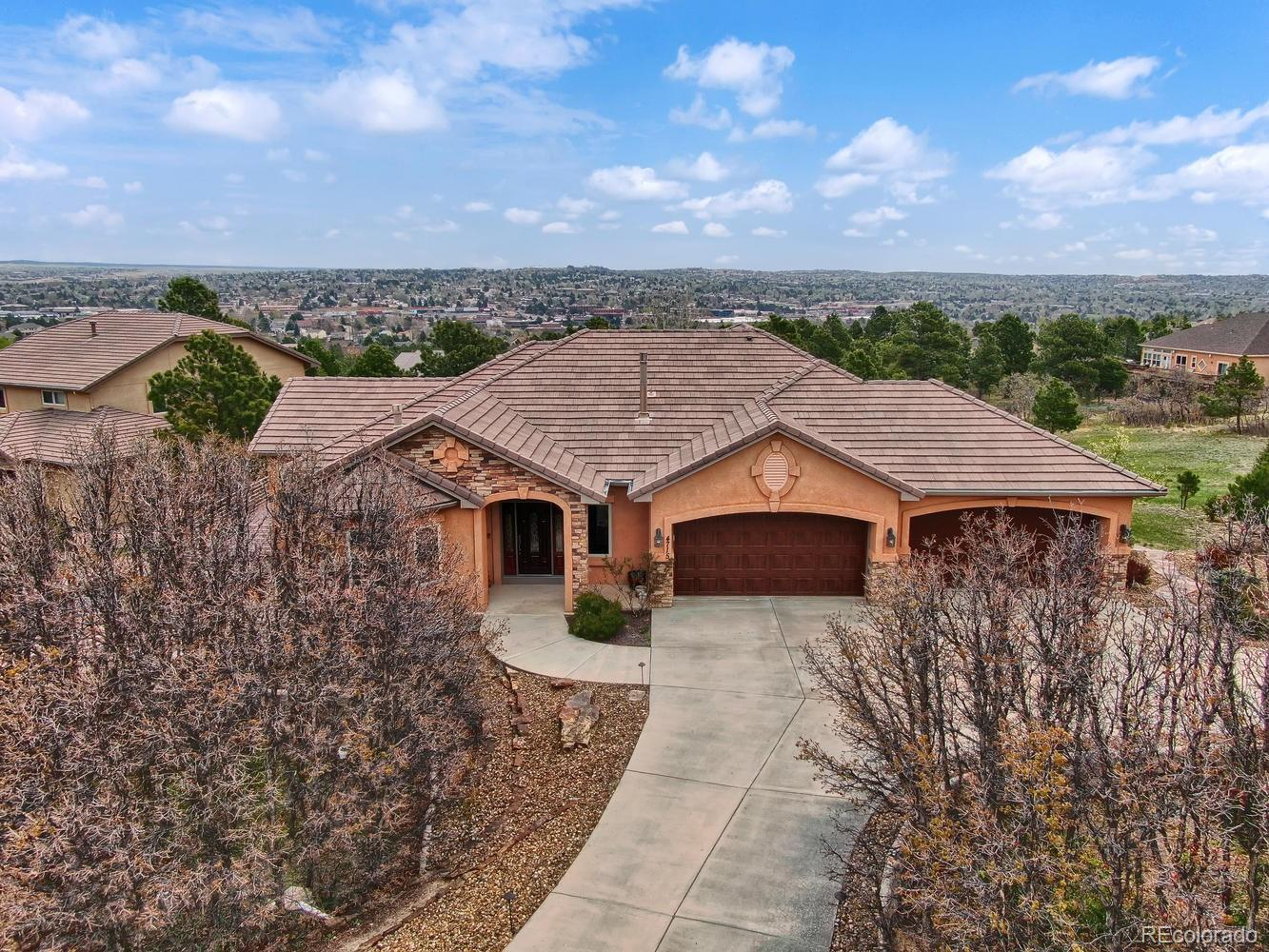 4715 Stonehill Road Property Photo - Colorado Springs, CO real estate listing
