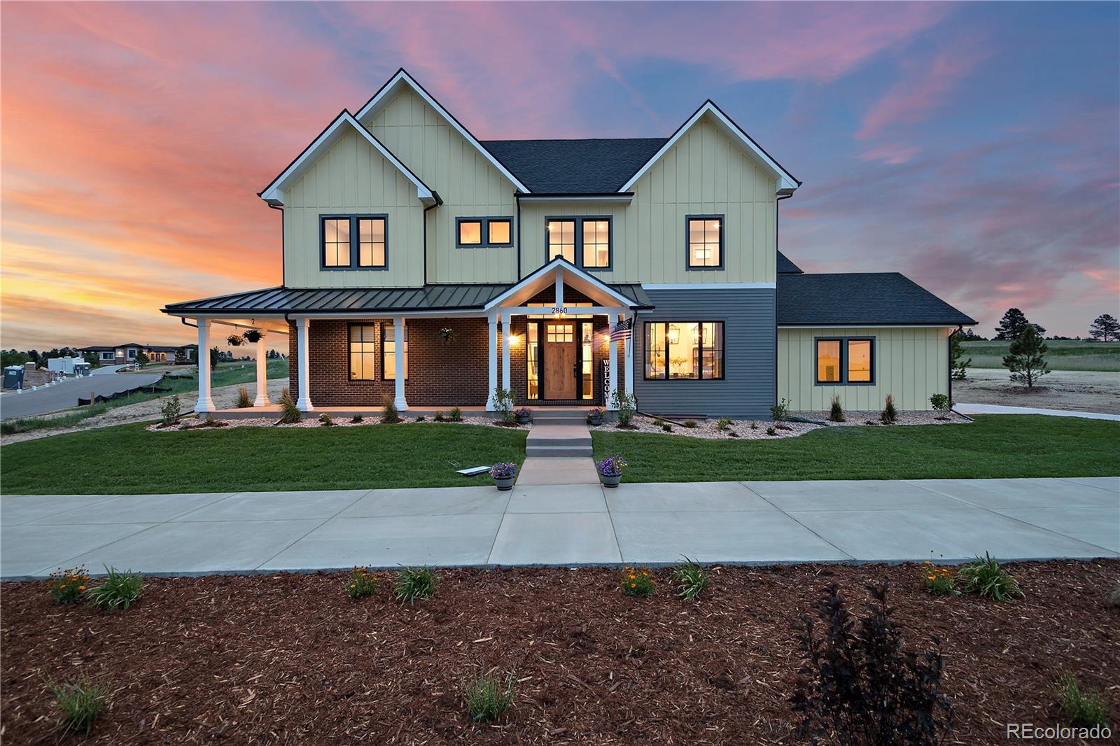 2860 Hidden Den Court Property Photo - Franktown, CO real estate listing