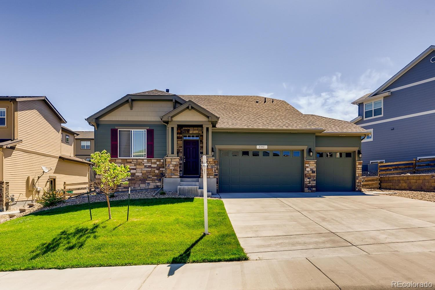 591 Sage Grouse Circle Property Photo - Castle Rock, CO real estate listing