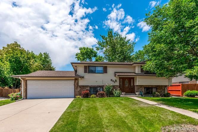 801 S Jellison Court Property Photo - Lakewood, CO real estate listing