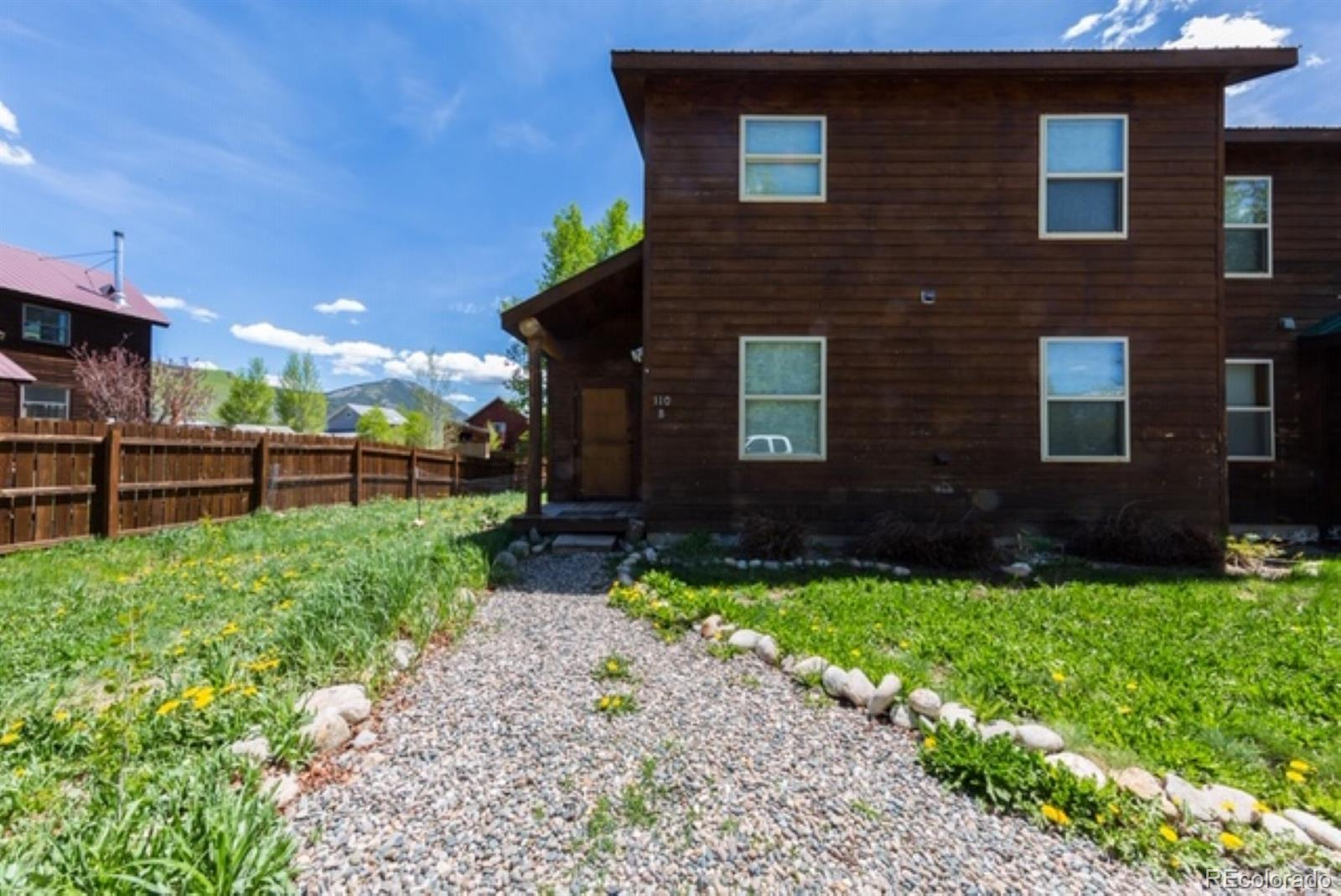 110 Floyd Avenue #B Property Photo - Crested Butte, CO real estate listing