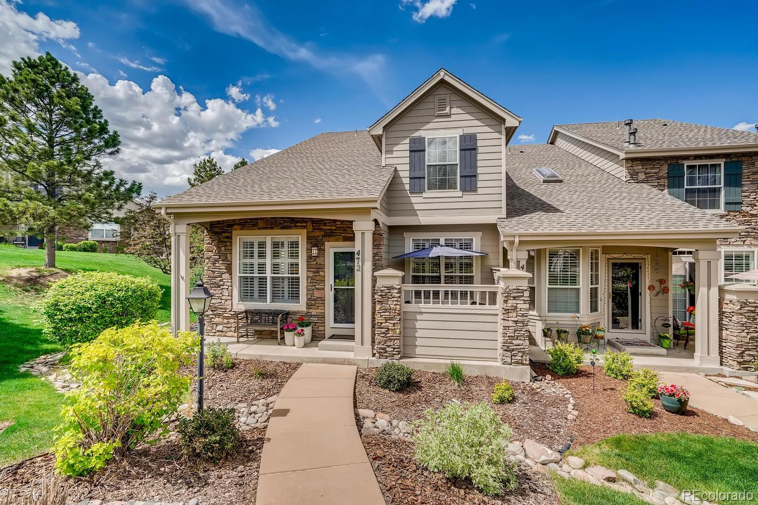 472 Clarendon Loop Property Photo - Castle Pines, CO real estate listing
