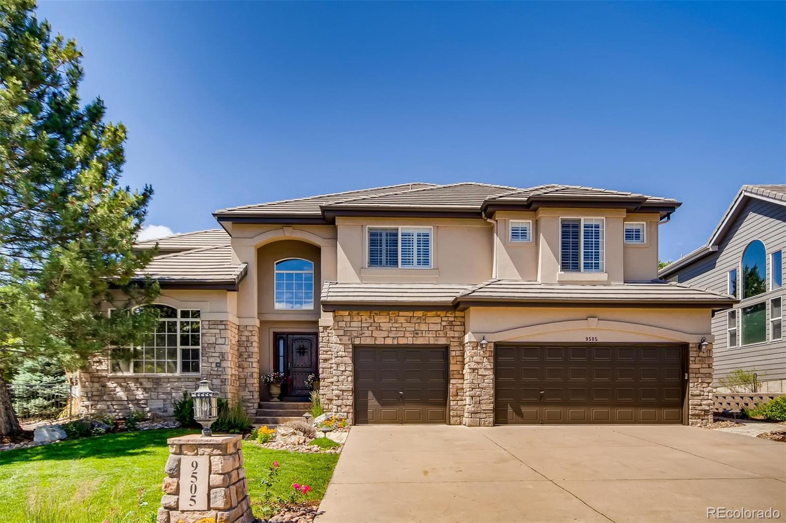 9505 Aspen Hill Circle Property Photo - Lone Tree, CO real estate listing