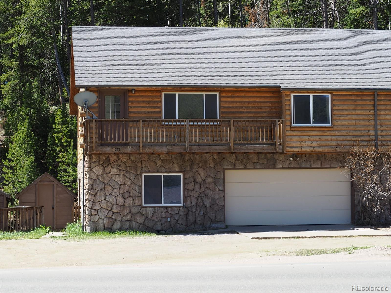 521 Hwy 72 Property Photo - Nederland, CO real estate listing