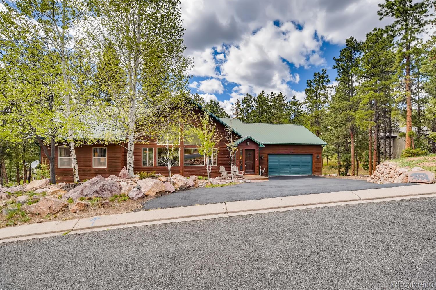 1020 Skyline Court Property Photo - Woodland Park, CO real estate listing