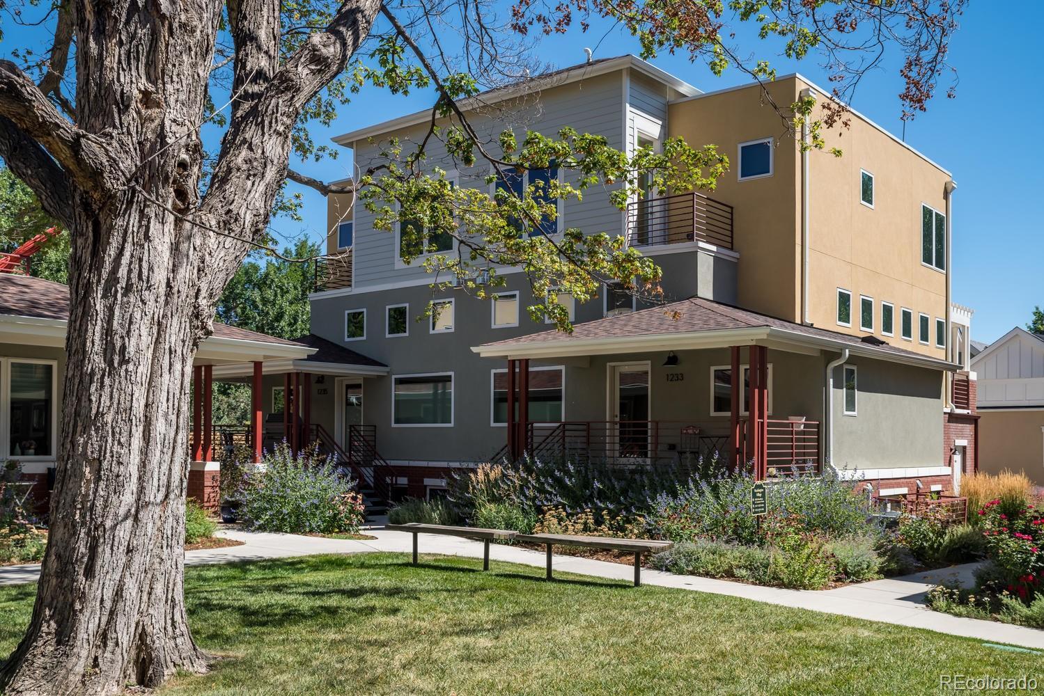 1235 Cedar Avenue Property Photo - Boulder, CO real estate listing