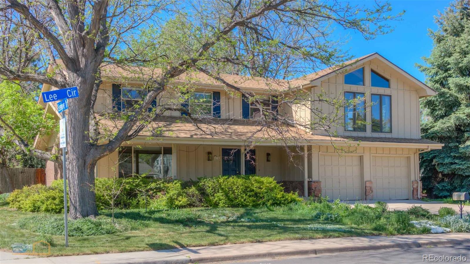 4730 Lee Circle Property Photo - Boulder, CO real estate listing