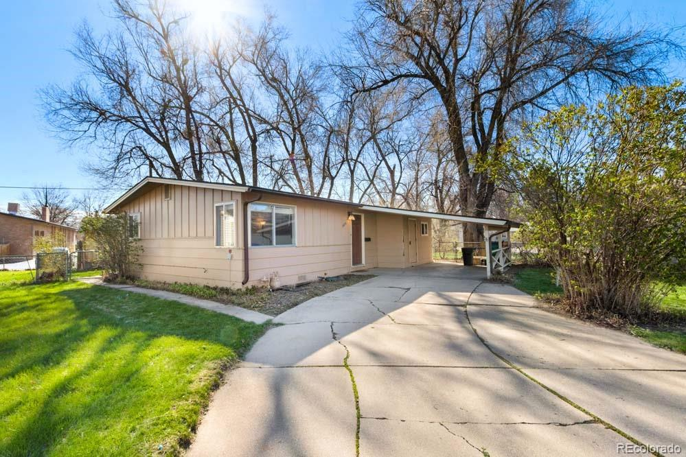 1820 Homer Court Property Photo - Fort Collins, CO real estate listing