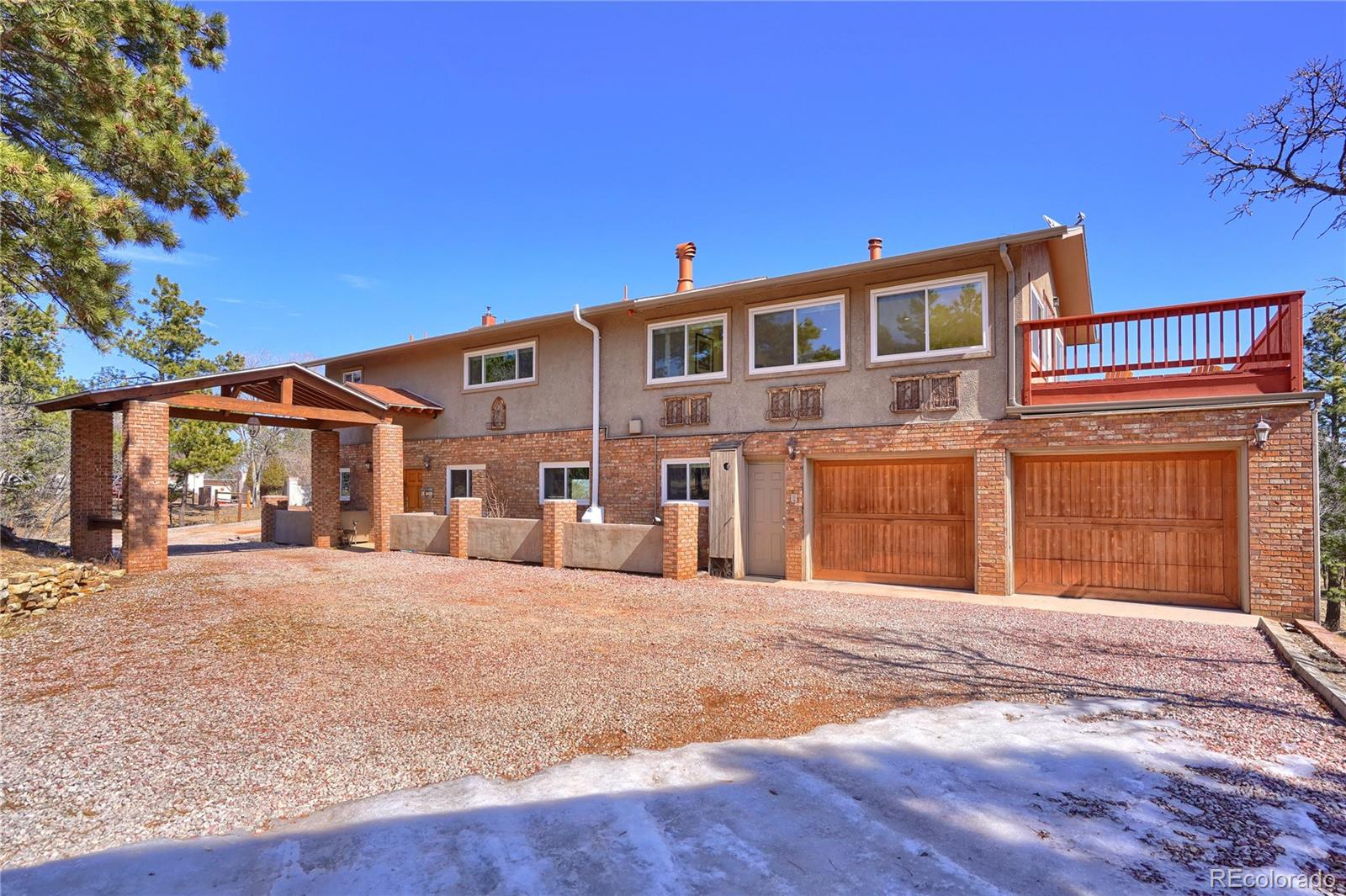 2515 Constellation Drive Property Photo - Colorado Springs, CO real estate listing