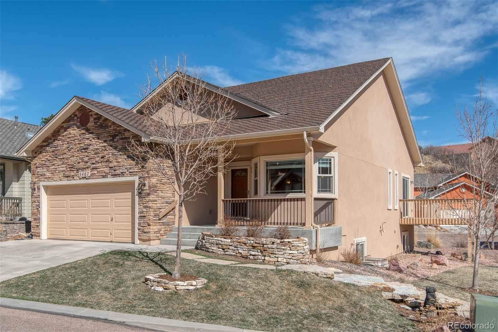 5467 Lions Gate Lane Property Photo - Colorado Springs, CO real estate listing
