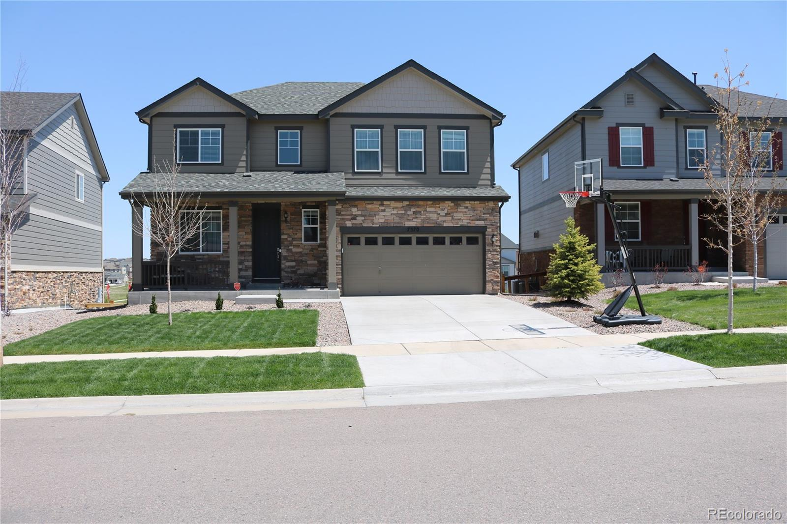 7370 S Old Hammer Way Property Photo - Aurora, CO real estate listing