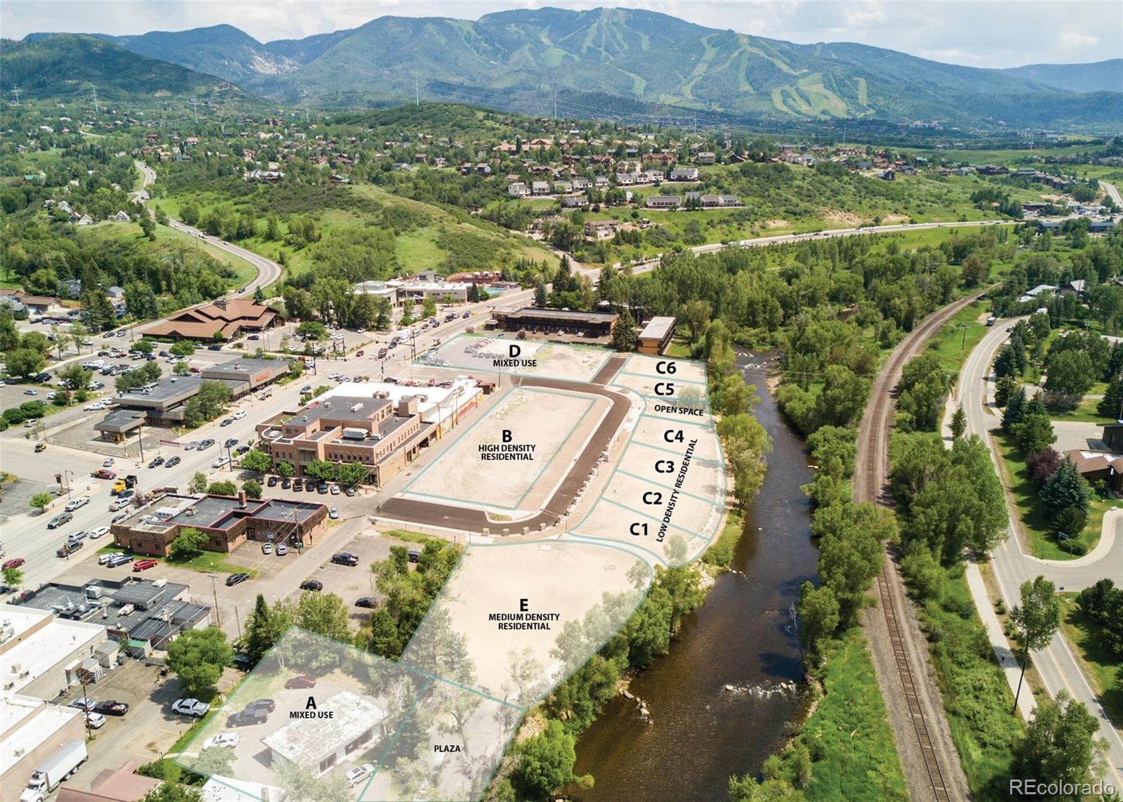 Lincoln Ave. - Riverview Parcel D Property Photo - Steamboat Springs, CO real estate listing