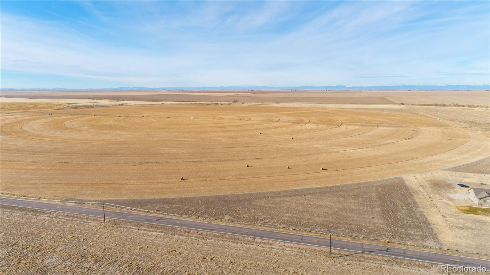 Parcel 3- Strasburg Road Property Photo - Strasburg, CO real estate listing